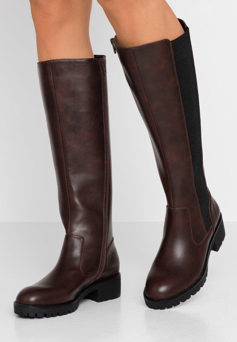Anna Field - Vysoká obuv - brown