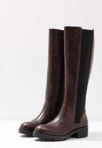 Anna Field - Vysoká obuv - brown - 4