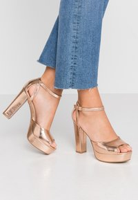 Anna Field - High heeled sandals - rose gold - 0