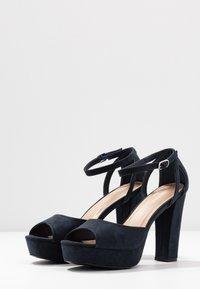 Anna Field - Sandaler med høye hæler - dark blue - 4