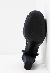 Anna Field - Sandaler med høye hæler - dark blue - 6