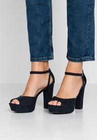 Anna Field - Sandaler med høye hæler - dark blue - 0