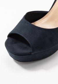 Anna Field - Sandaler med høye hæler - dark blue - 2