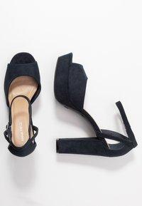 Anna Field - Sandaler med høye hæler - dark blue - 3