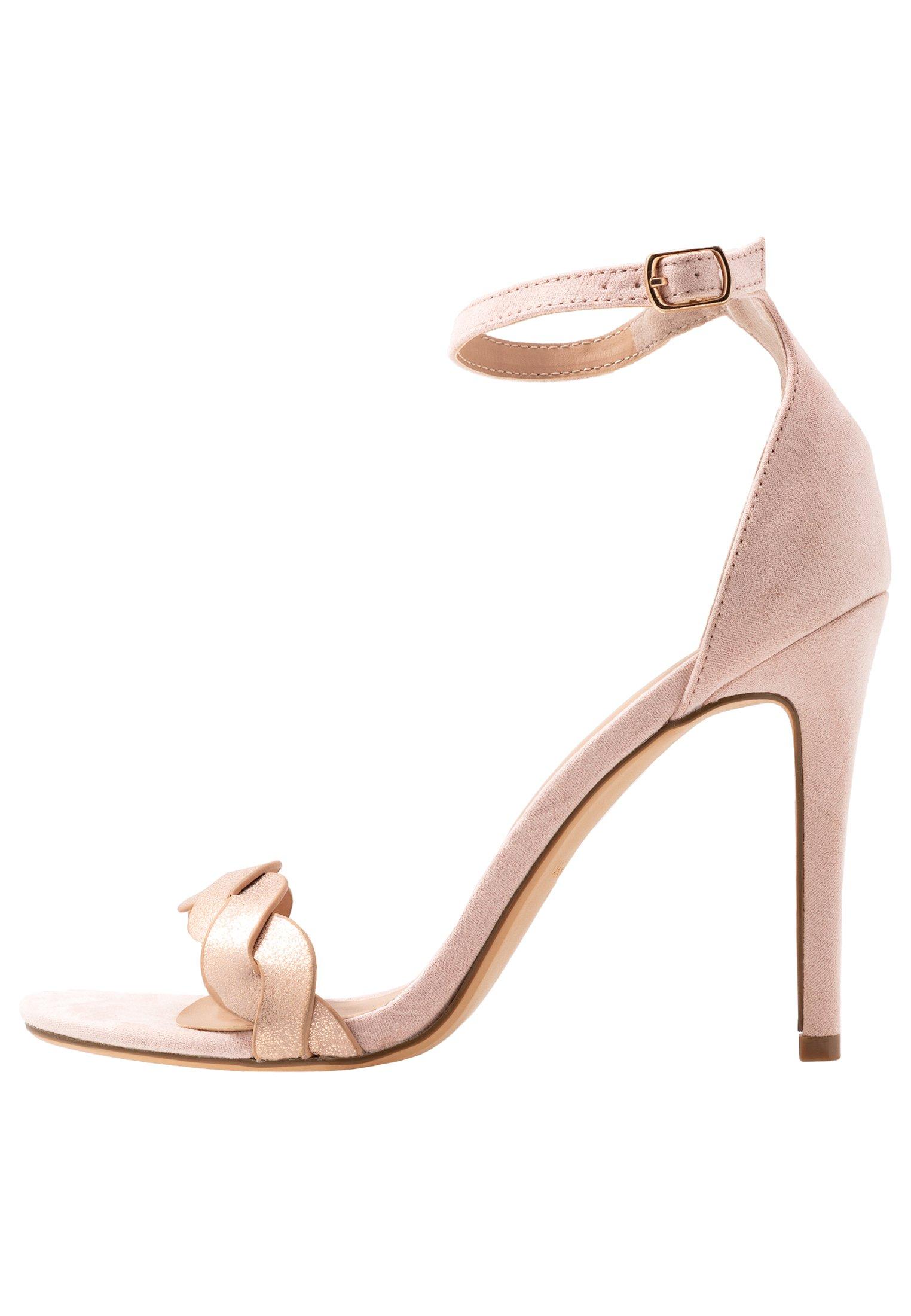 Anna Field Sandaler med høye hæler - rose