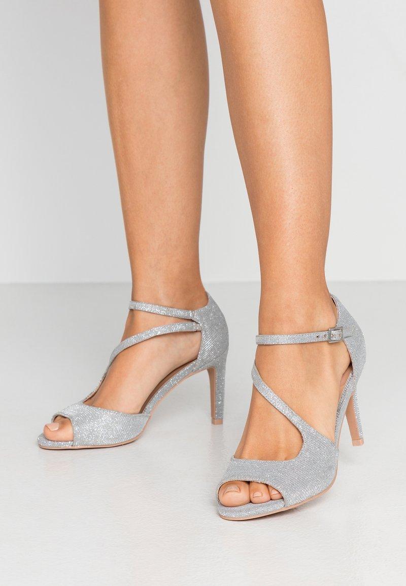 Anna Field - High heeled sandals - silver