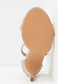 Anna Field - Sandaler med høye hæler - gold - 6
