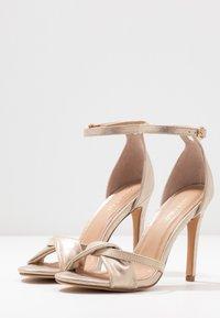 Anna Field - Sandaler med høye hæler - gold - 4