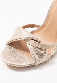 Anna Field - Sandaler med høye hæler - gold - 2