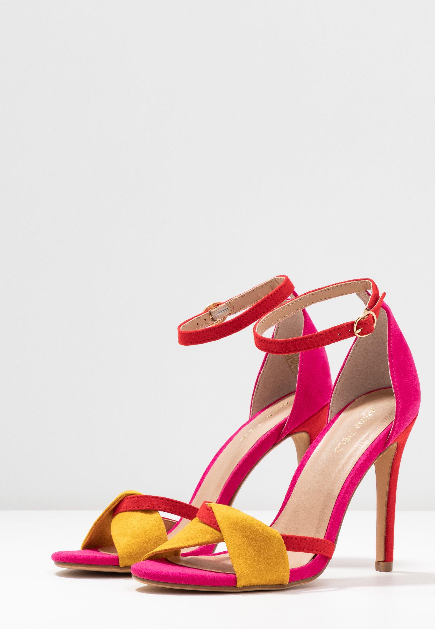 Anna Field Sandales à talons hauts - pink