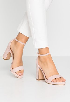 High Heel Sandalette - rose