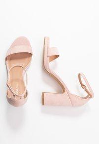 Anna Field - Sandaler med høye hæler - rose - 3