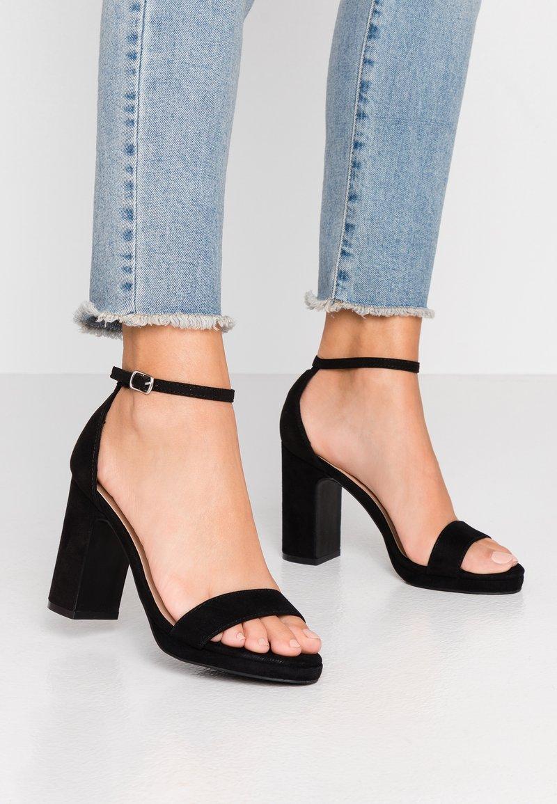 Anna Field - Korolliset sandaalit - black