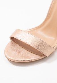 Anna Field - Sandaler med høye hæler - rose gold - 2
