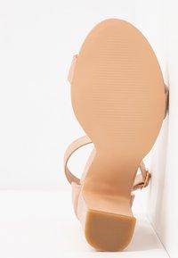Anna Field - Sandaler med høye hæler - rose gold - 6