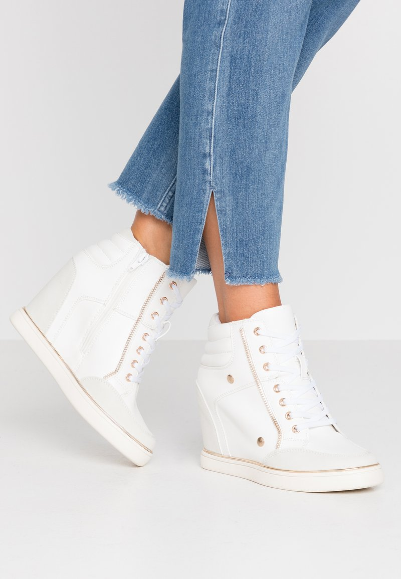 Anna Field - High-top trainers - white