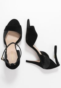 Anna Field - LEATHER HEELED SANDALS - High heeled sandals - black - 3