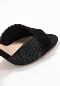 Anna Field - LEATHER HEELED SANDALS - High heeled sandals - black - 2
