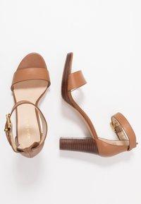 Anna Field - LEATHER HEELED SANDALS - High Heel Sandalette - cognac - 3