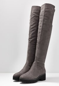 Anna Field - Over-the-knee boots - dark grey - 4