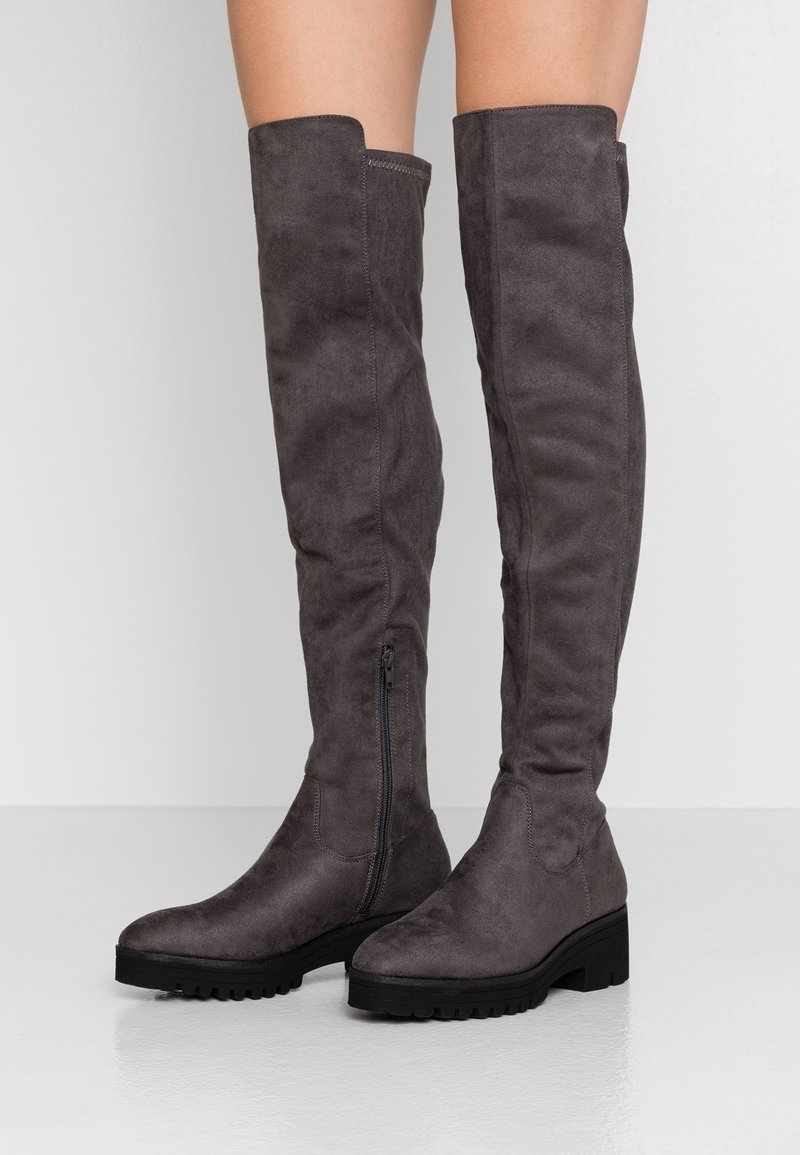 Anna Field - Over-the-knee boots - dark grey
