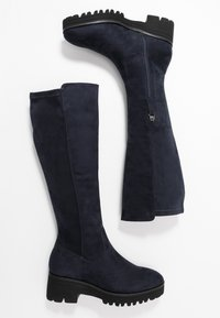 Anna Field - Platform boots - dark blue - 3