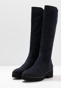 Anna Field - Platform boots - dark blue - 4