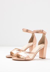 Anna Field - LEATHER - Sandals - rose gold - 4