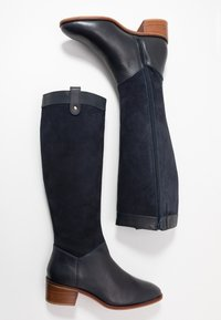 Anna Field - LEATHER BOOTS - Boots - dark blue - 1