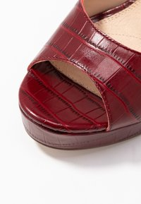 Anna Field - LEATHER HEELED SANDALS - High heeled sandals - bordeaux - 2