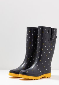 Anna Field - Wellies - dark blue - 4