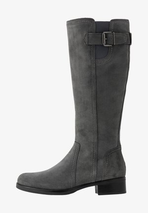 LEATHER BOOTS - Saappaat - grey