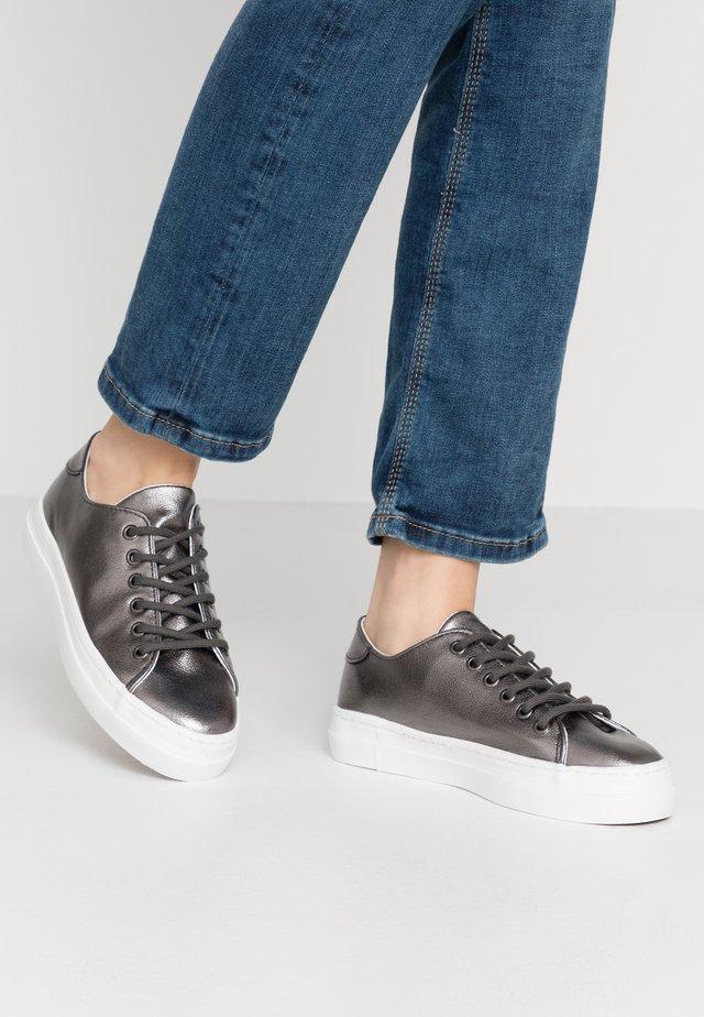 Sneakers basse - gunmetal