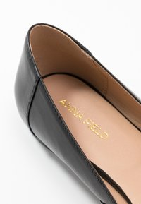 Anna Field - LEATHER BALLERINAS - Bailarinas - black