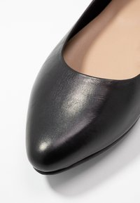 Anna Field - LEATHER BALLERINAS - Ballerines - black