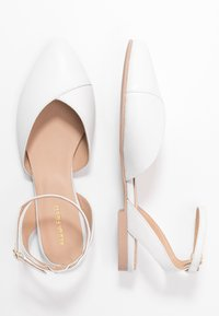 Anna Field - LEATHER  - Slingback ballet pumps - white - 3