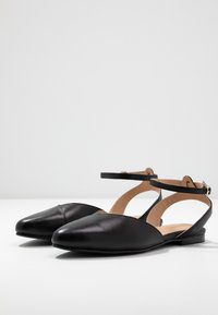 Anna Field - LEATHER  - Slingback ballet pumps - black - 4