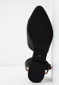 Anna Field - LEATHER  - Slingback ballet pumps - black - 6