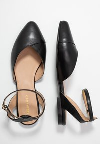 Anna Field - LEATHER  - Slingback ballet pumps - black - 3