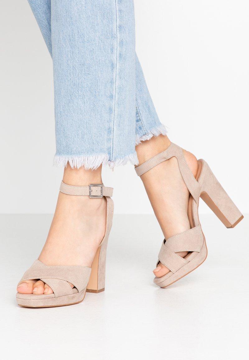 Anna Field - Sandalen met hoge hak - beige