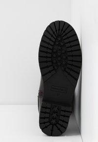 Anna Field - Vysoká obuv - dark brown - 6