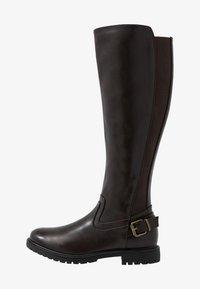 Anna Field - Vysoká obuv - dark brown - 1