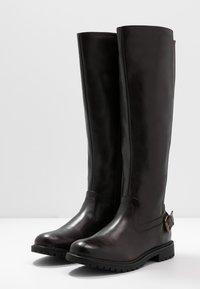 Anna Field - Vysoká obuv - dark brown - 4