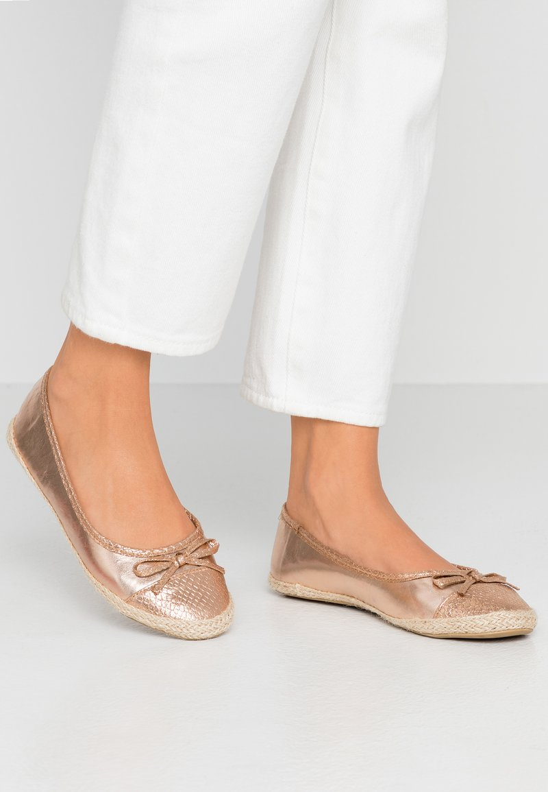 Anna Field - Ballerines - rose gold