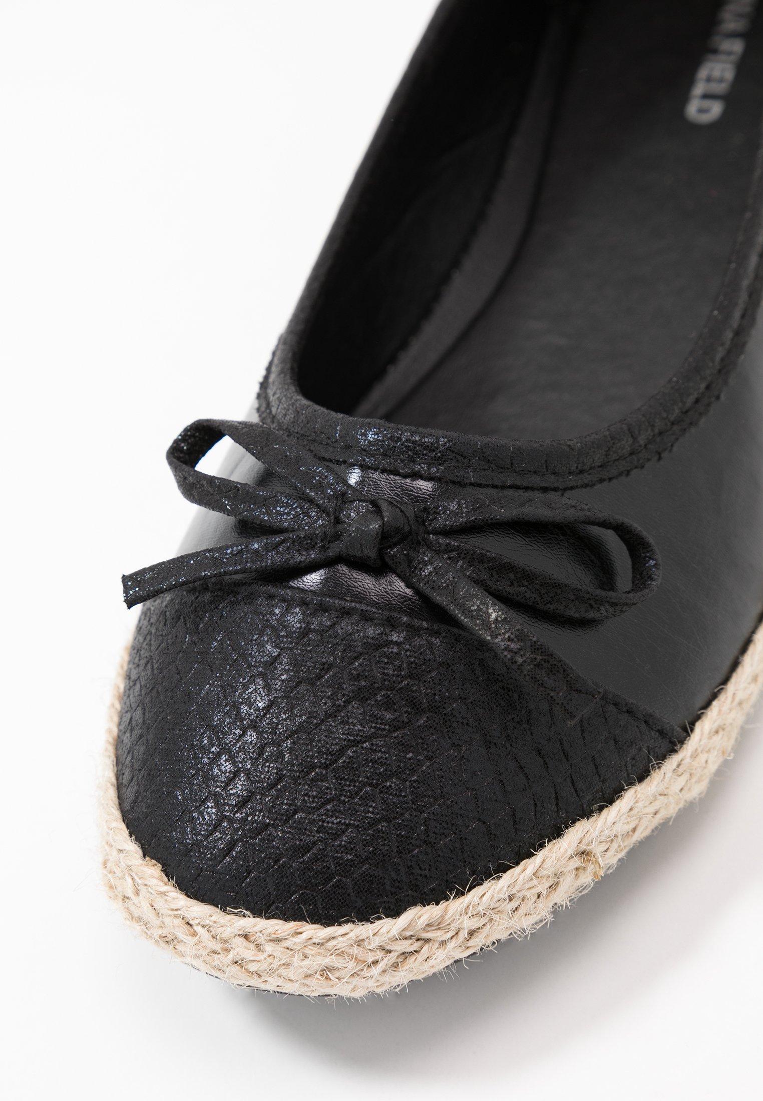 Anna Field Ballerinaskor - black