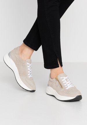 LEATHER SNEAKERS - Joggesko - beige