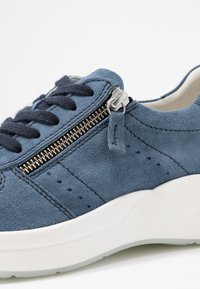 Anna Field - LEATHER SNEAKERS - Trainers - blue - 2