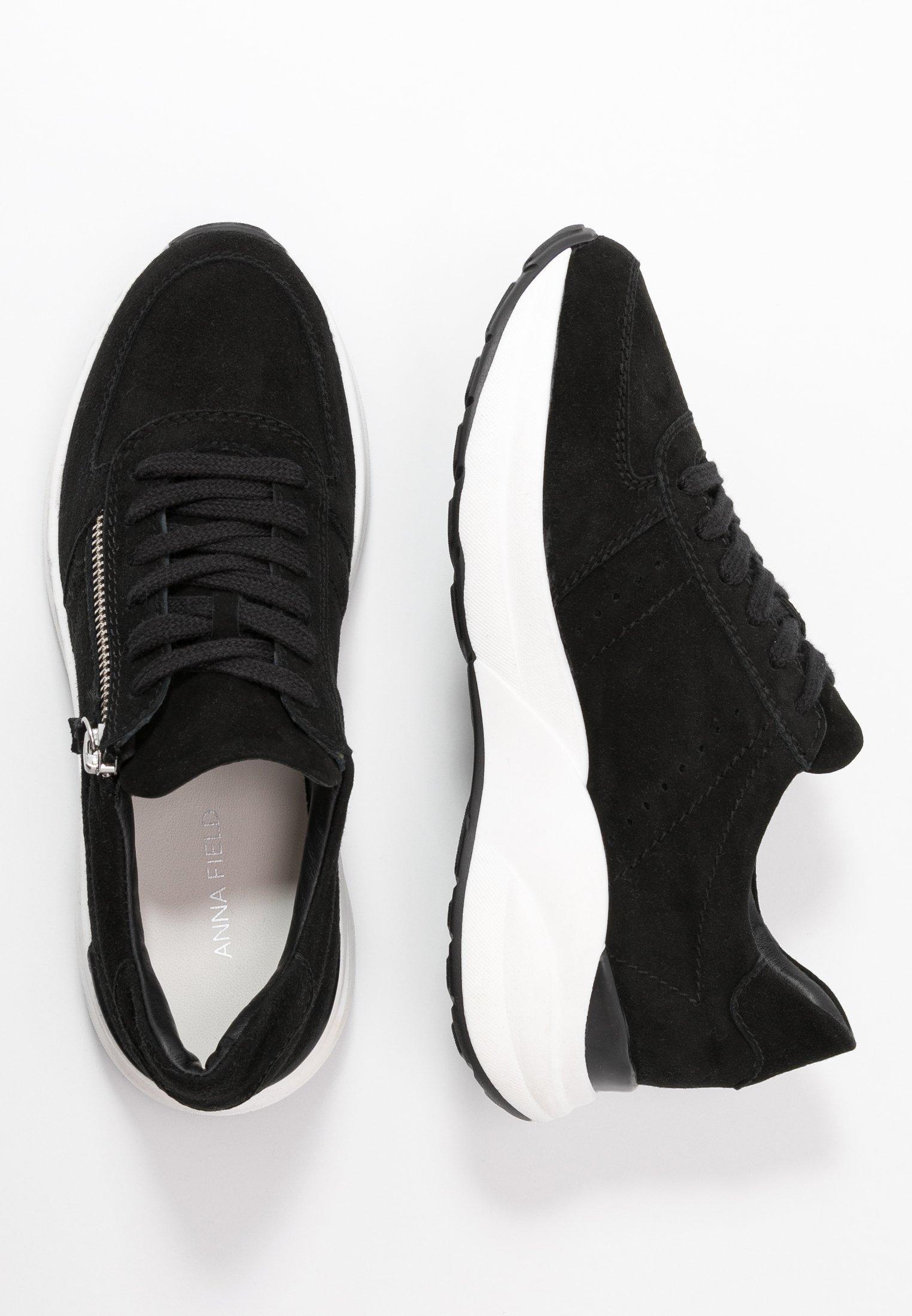 Anna Field Leather Sneakers - Basse Black 2dgq2Nb