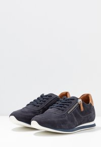 Anna Field - LEATHER SNEAKERS - Trainers - dark blue - 4