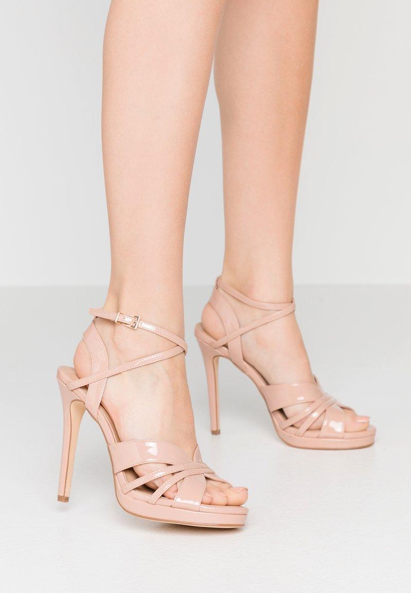 Anna Field - Sandalen met hoge hak - nude